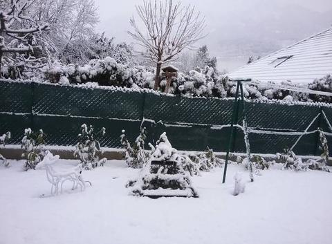 Neige sur GAP Hautes-Alpes
