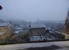 Neige Chavigny 54230 Première neige