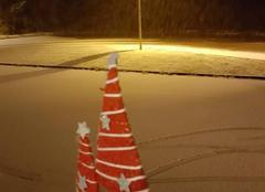 Neige Thaon-les-Vosges 88150 Surprise le neige s'invite