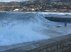 Mer L'Ile-Rousse 20220 Tempête