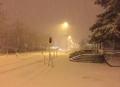 Neige Echirolles 38130 Il neige à Grenoble