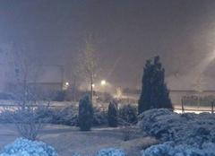 Neige Bologne 52310 Matin de décembre