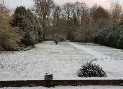 Neige Saint-Remy-en-Bouzemont-Saint-Genest-et-Isson 51290 En attendant le père Noël