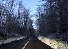 Neige Vernouillet 78540 Neige au bord des routes