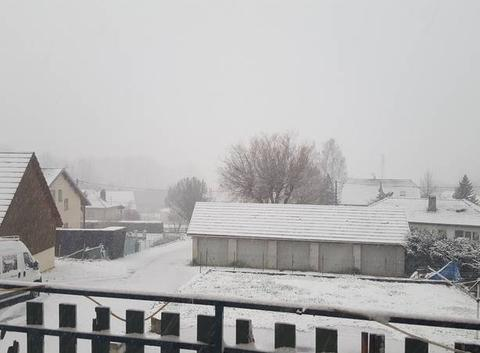Chute de neige importante