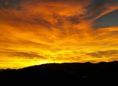Ciel Antibes 06160 Coucher soleil