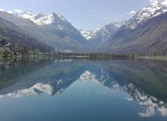 Ciel Saint-Lary-Soulan 65170 Lac de genos