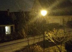 Neige Sainte-Catherine 62223 Neige arrive à arras