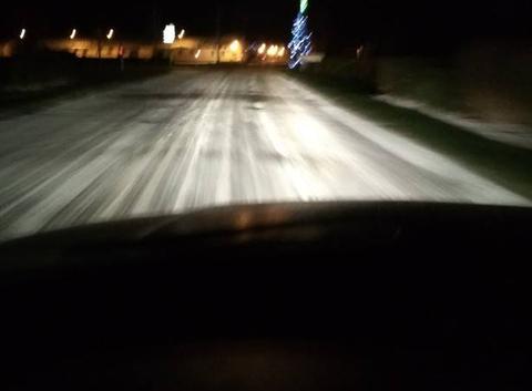 Neige dans la somme