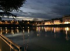 Ciel Bourg-de-Peage 26300 Crépuscule sur les quais