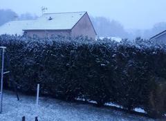 Neige Lumes 08440 Neige dans les Ardennes
