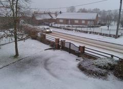 Neige Wasnes-au-Bac 59252 Neige a Cambrai ce matin