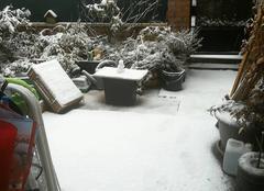 Neige Perenchies 59840 Matinée sous la neige