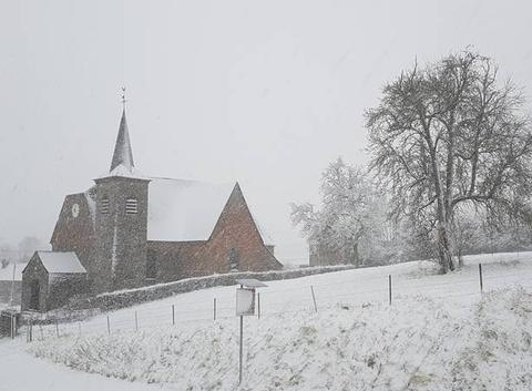 Neige dans l'avesnois