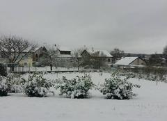 Neige Nouvion-sur-Meuse 08160 5 cm