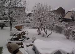 Neige Bogny-sur-Meuse 08120 Tombe la neige