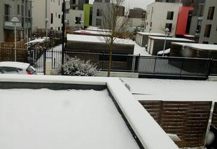 Ciel Strasbourg 67000 Strasbourg sous la neige