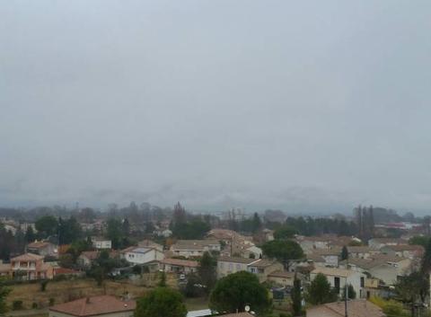 Pluie et brume