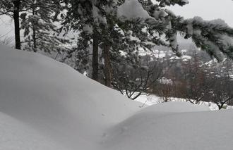 Neige Baratier 05200 Neige dans les Hautes - Alpes