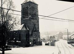 Neige Meurchin 62410 Église