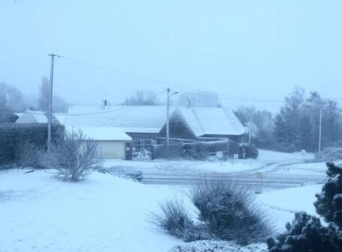 Ambiance hivernale dans l'Artois