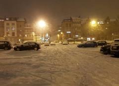 Neige Anvers Un début de semaine enneigé