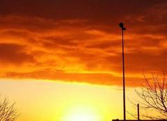 Ciel Maulevrier 49360 Levé de soleil !