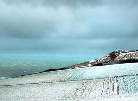 La Cote d'Opale sous la neige
