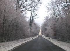 Neige Villette-sur-Ain 01320 Matin de neige