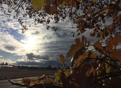 Nuages Mours-Saint-Eusebe 26540 Le soleil perce après la pluie