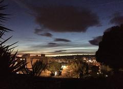 Ciel Nice 06000 Coucher de soleil Nice ouest