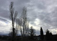 Nuages Mours-Saint-Eusebe 26540 Ciel matinal