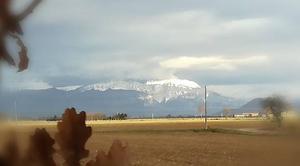 Neige La Cote-Saint-Andre 38260 Massif de chartreuse sous son manteau neigeux