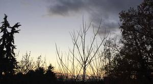 Ciel Mours-Saint-Eusebe 26540 Ciel clair au couchant