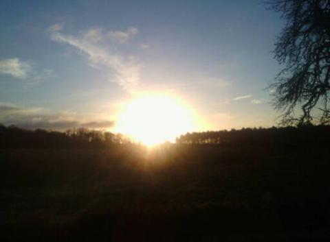Soleil puissant