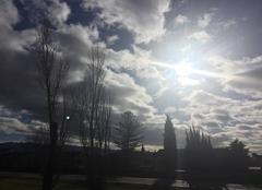 Ciel Mours-Saint-Eusebe 26540 Ciel moutonneux à mi-journée