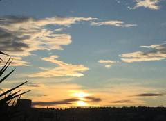 Ciel Nice 06000 Couché de soleil