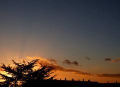 Ciel Niort 79000 Coucher de soleil de ce 15 décembre 2017