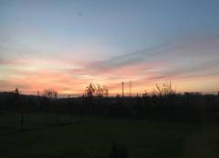 Ciel Cany-Barville 76450 Couché de soleil