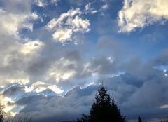 Ciel Pamiers 09100 Un matin hivernal