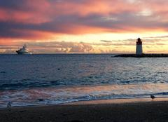 Ciel Saint-Jean-Cap-Ferrat 06230 The sun rise