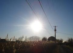 Chaleur Aigues-Mortes 30220 Beau soleil 9h05