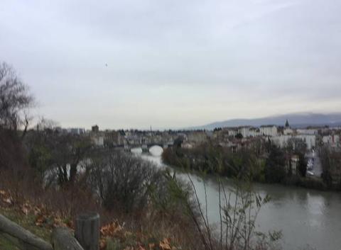 Pluie sur l'Isère