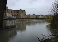 Pluie Bourg-de-Peage 26300 Quais d'Isère sous la pluie