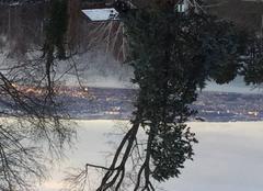 Ciel Evian-les-Bains 74500 Décembre