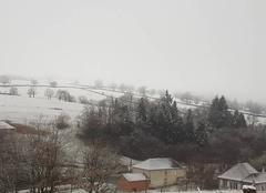 Neige Mars 42750 Neige sur les mont