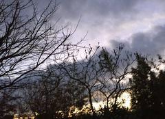 Ciel Mours-Saint-Eusebe 26540 Soleil couchant