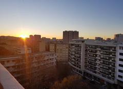 Ciel Toulon 83000 Couché de soleil