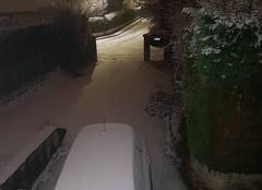 Neige Genas 69740 Il neige