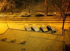 Ciel Dijon 21000 épisode neigeux en Côte d'Or
